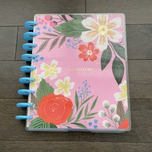 HAPPY PLANNER Lovely Blooms Floral Classic Planner Be Present